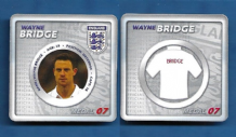 England Wayne Bridge Manchester City 7 (E)